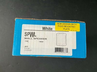 *NIB* *New* System Sensor SPWL Fire Alarm Speaker White Wall