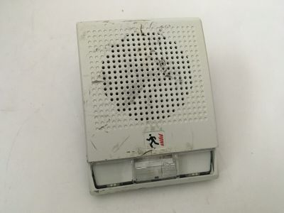 EST Edwards GE Mirtone G4R-S7VM Fire Alarm Speaker/Strobe White