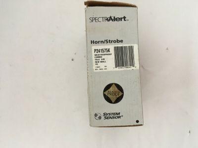 *NIB* *New* System Sensor P241575K Weatherproof Fire Alarm Horn/Strobe