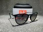 Ray-ban Erika RB4171 622/8G 54mm Matte Black/Grey Gradient Dark Grey Sunglasses