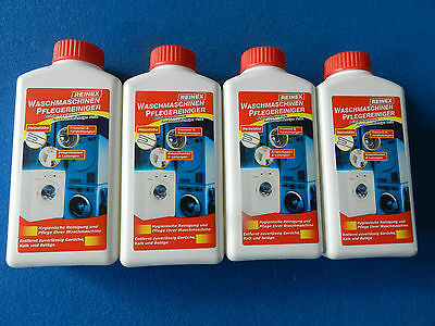 4 x  250 ml, Waschmaschinenreiniger, Waschmaschinen Reiniger , 1L = 13,49 Euro