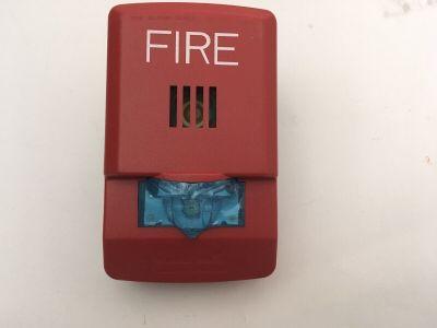 *NIB* *New* Wheelock LHSR Fire Alarm LED Horn/Strobe Wall Red