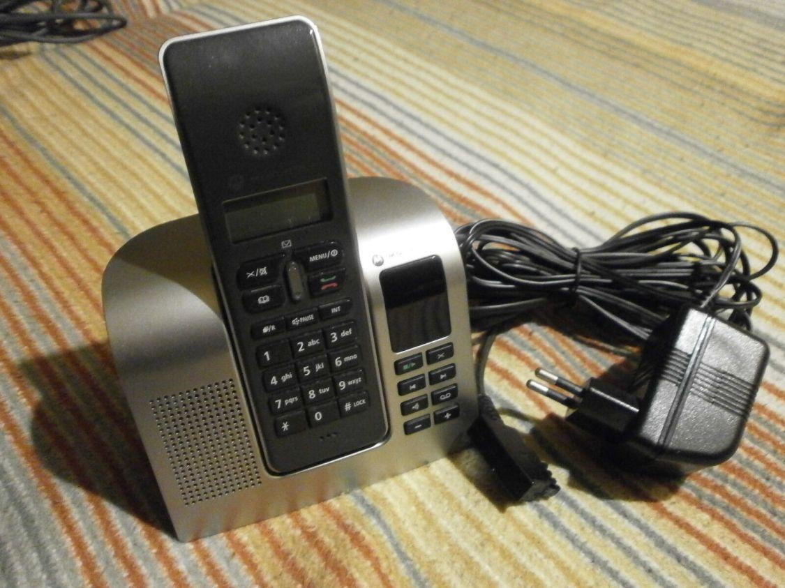 Schnurlos Telefon von Motorola, gebraucht, siehe Bilder