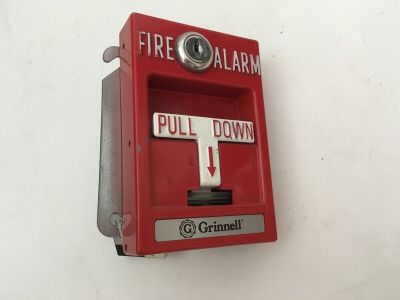 Grinnell Thorn Autocall RMS-1T ADDRESSABLE Fire Alarm Pull Station IXA-RMS 501CM