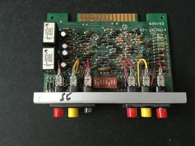Spectronics 640/S2 Fire Alarm Control Panel Zone Card Board