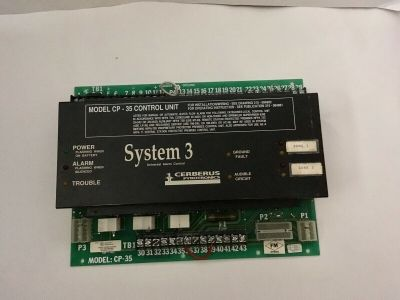 Siemens Cerberus Pyrotronics System 3 Fire Alarm Control Panel CP-35