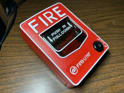 Fire-Lite BG-12 Fire Alarm Pull Station Honeywell