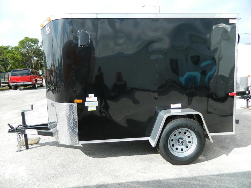 5x8 Enclosed Trailer Ebay