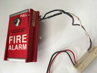 FCI MS-6 Fire Alarm Pull Station With System Sensor M501M Module