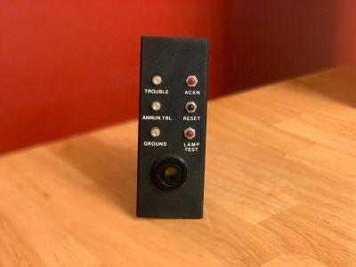 Autocall 5130-044-0102 Fire Alarm MDK-2 Control Panel User Input Module