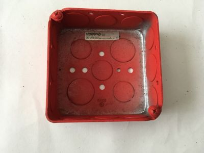 *New* Wheelock R-BB Fire Alarm Backbox Electric Box Red
