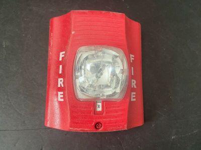 System Sensor SR SpectrAlert Advance Fire Alarm Remote Strobe Wall Red