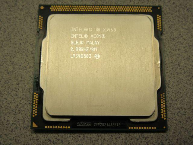Топ процессоров для сокета 1156 X3460