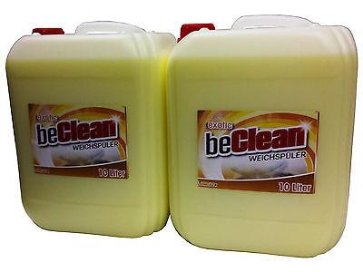 Weichspüler beClean exotic 2x10l für duftige Wäsche