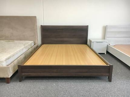 Brand New Clearance Beautiful Modern Wooden Bed All Sizes