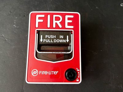 Fire-Lite BG-12 Fire Alarm Pull Station Notifier Honywell