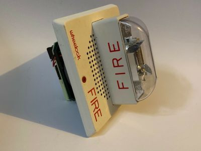 Wheelock ET70-241575W Fire Alarm Speaker/Strobe White Ceiling Mount