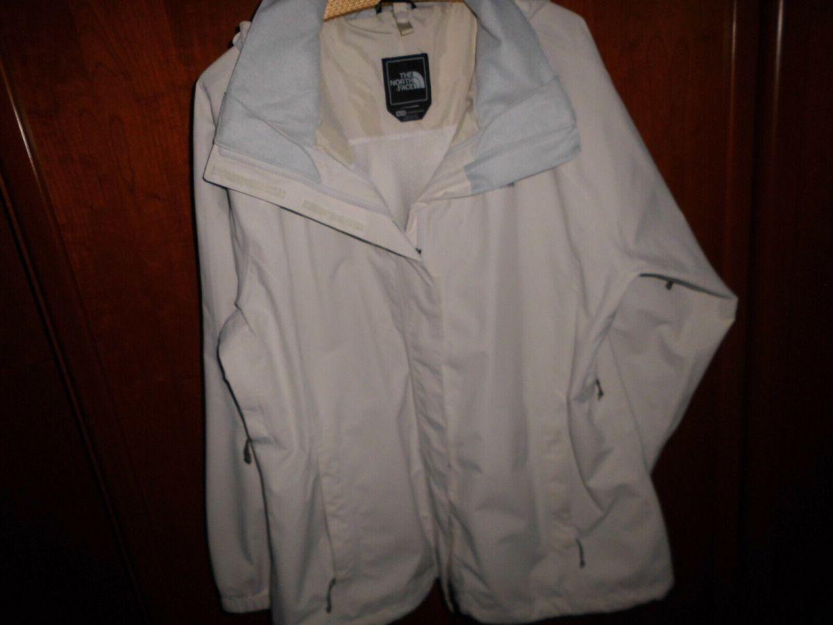 The North Face Gr. XL, Damen Funktions Jacke Outdoorjacke Regenjacke, beige