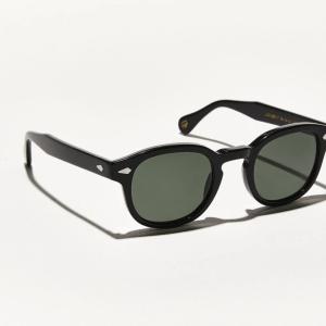 MOSCOT Lemtosh POLARISED Sunglasses. Black. Size 49-24-145. New. Warranty. G15