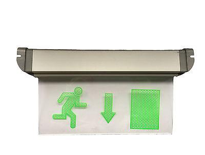 Notausgang Beleuchtung LED Schild Leuchte Licht Exit Ausgang Leuchtschild