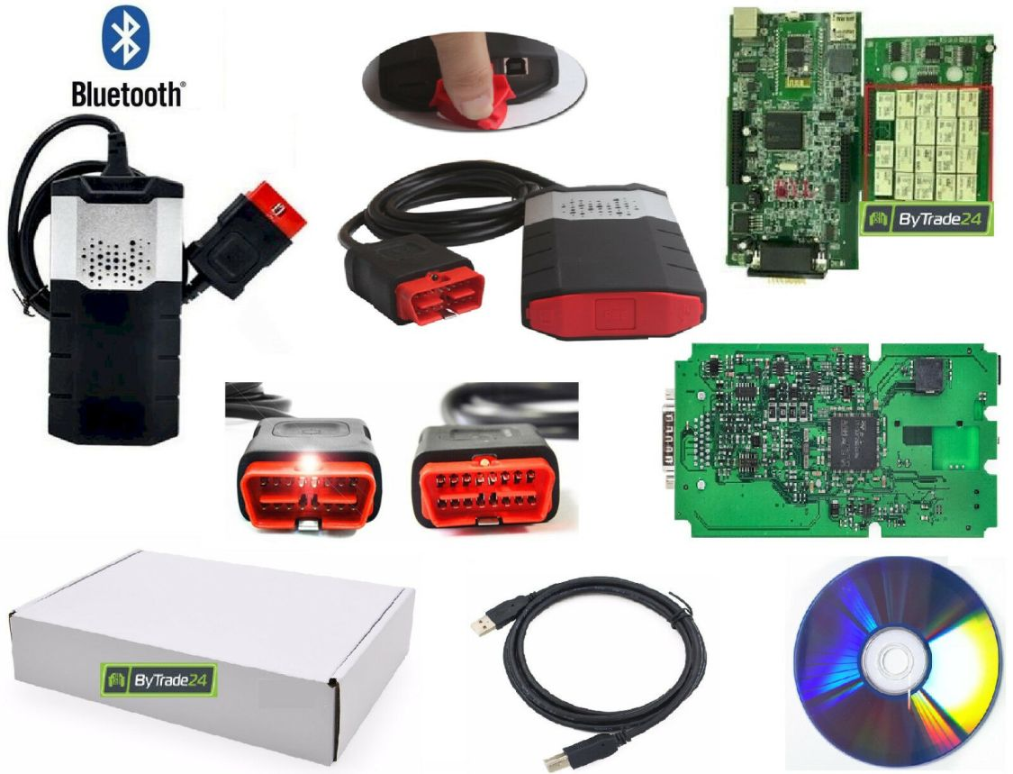 PROFI KFZ Diagnosegerät HIGHPLUS mit Bluetooth Pkw Lkw OBD1 OBD2 Fehlerspeicher