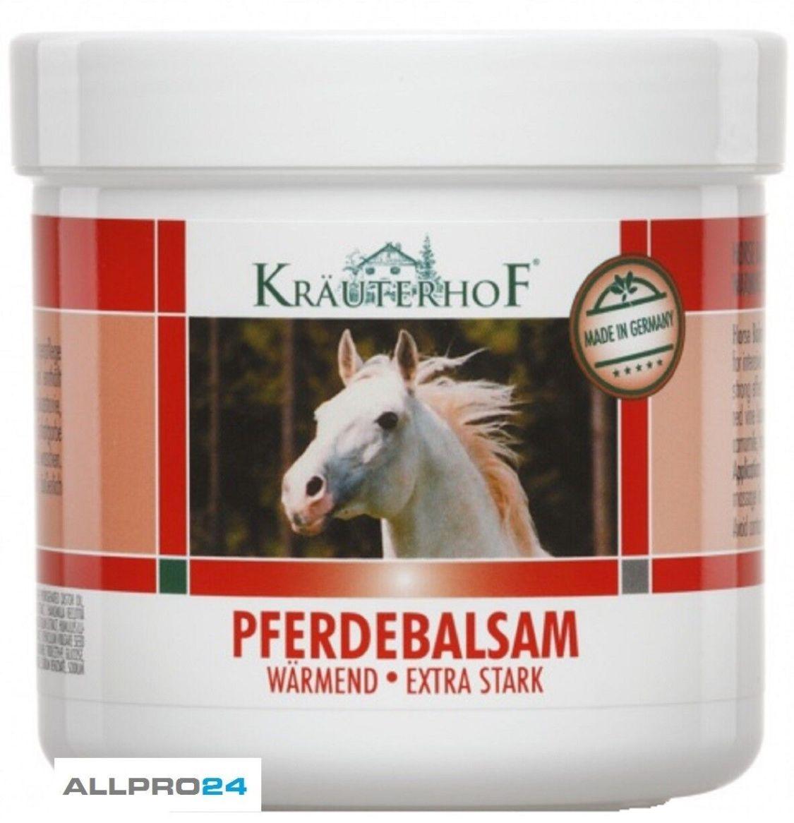 Pferdebalsam Sportgel Pferdesalbe Pferde Balsam Creme wärmend mit Mengenrabatt