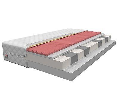Matratze 80x160 Kindermatratze TAURUS 9 Zonen H2 H3 Visco Memory Kaltschaum 16cm