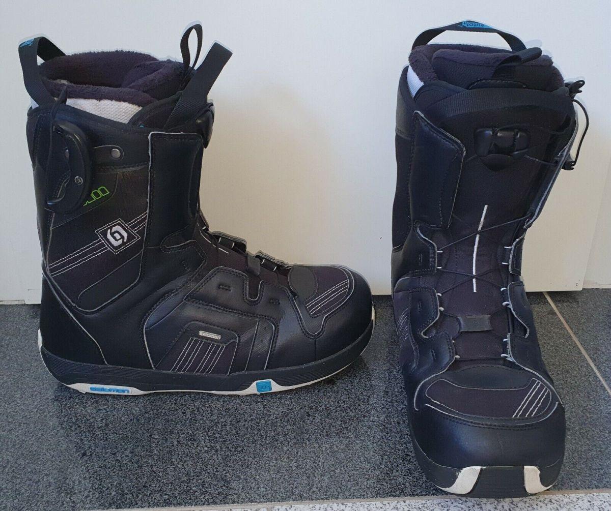 Snowboard Boots Salomon Gr.44 Herren Snowboardschuhe Gr.43  Top Zustand