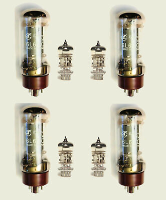 6L6 & 12AX7 / ECC83 Valve kit for Peavey 3120 & Triple XXX II guitar amplifiers