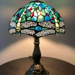 Tiffany Style Stained Glass Turtle Desk Lamp For Sale Online Ebay