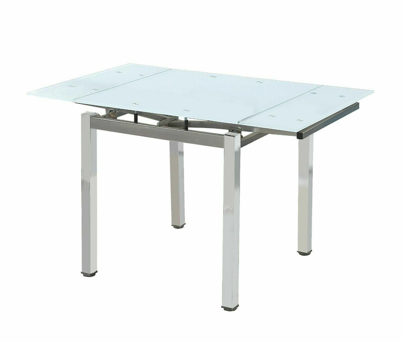 Extending Glass Dining Tables Ebay