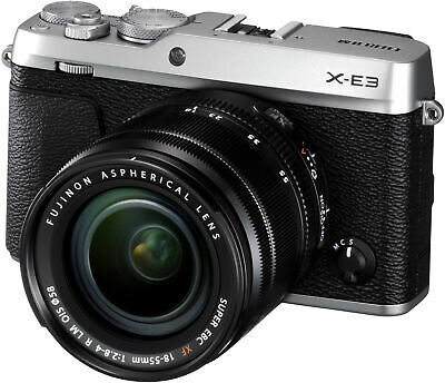 Fujifilm X-E3 Mirrorless Digital Camera with 18-55mm Lens Silver