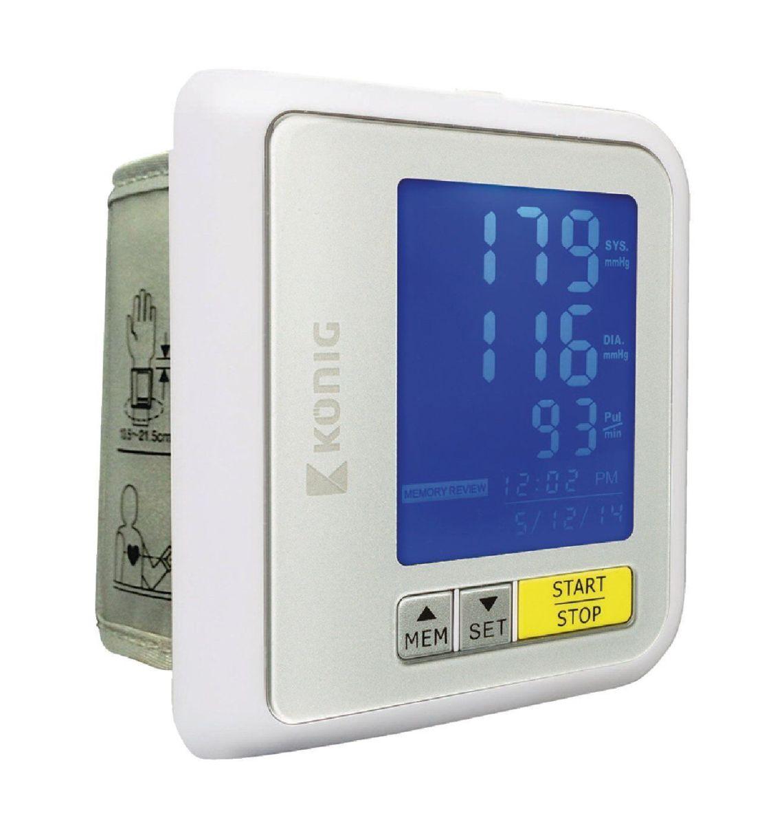 KÖNIG Bluetooth Blutdruckmessgerät Handgelenk Pulsmesser R4.1/F1-1577 UVP*= 49€