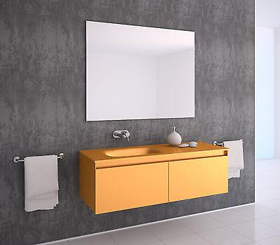 4-mm Badspiegel nach Wunschmaß, ,Kante Zuschnitt gesäumt