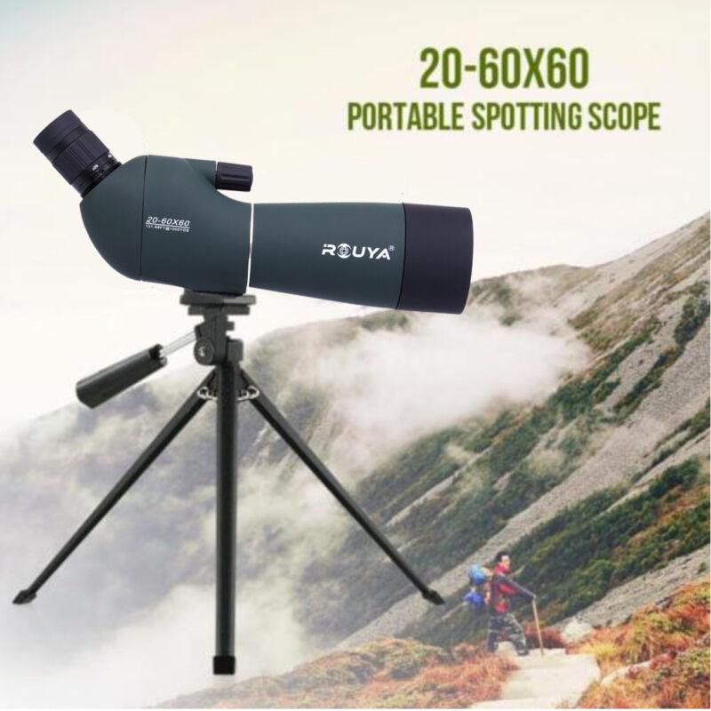 Spektiv Ferngläser 20-60x60 HD Nachtsicht Monokular Ferngläser Teleskope Stativ