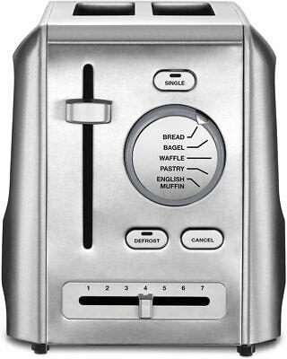 Cuisinart 2-Slice Custom Select Metal Toaster - Stainless Steel