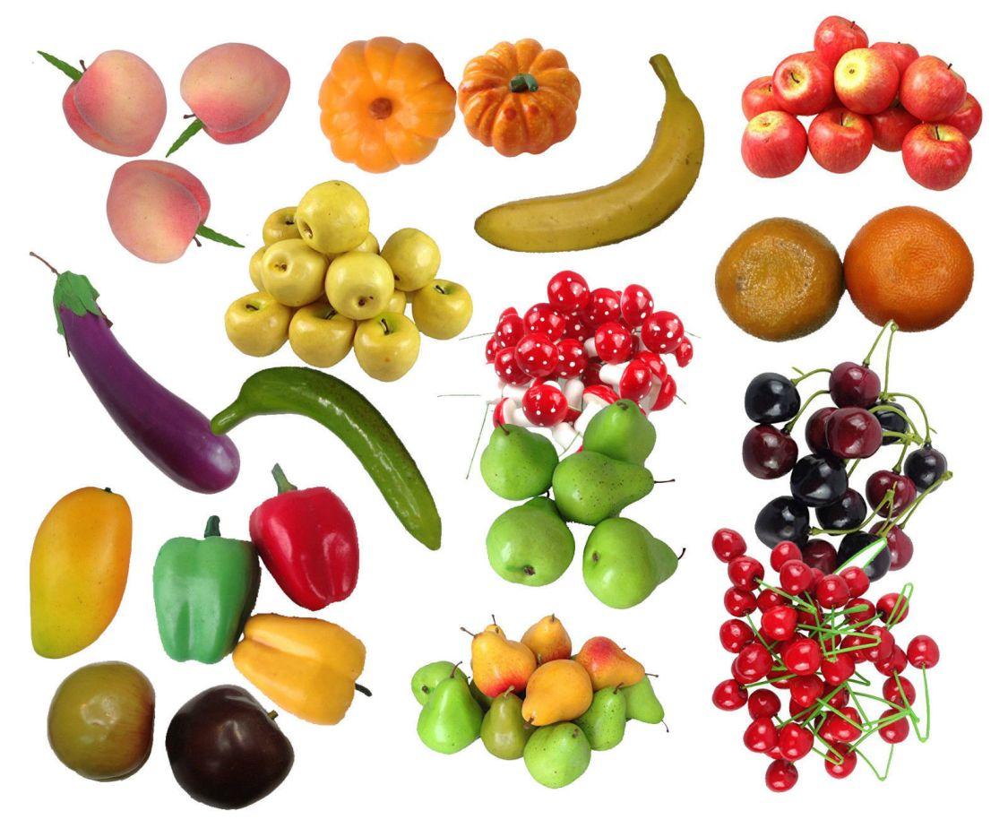 Deko Dekoobst Kunstobst Kunstgemüse künstliches Obst Gemüse Dekoration