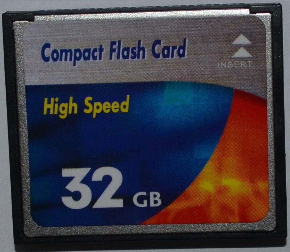Neu 32 GB Speicherkarte Compact Flash High Speed Karte CF für Digital Kamera