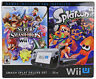 New Nintendo Wii U Super Smash Bros/Splatoon Bundle Deluxe Set