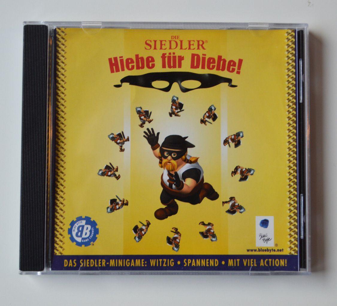 Die Siedler - Hiebe für Diebe - PC Spiel CD-ROM Game - Original Siedler-Minigame