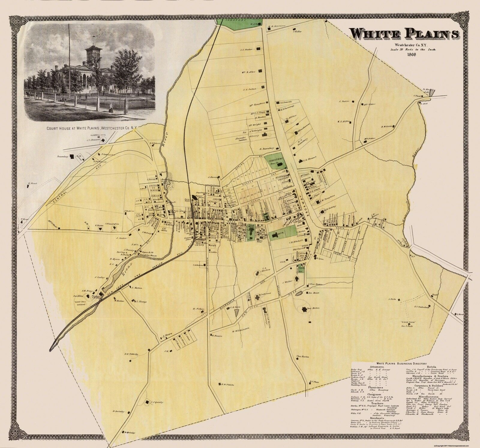 Map White Plains New York City