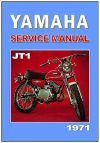 YAMAHA Workshop Manual JT1 Minibike 1971 on Service & Repair JT1 JT1L JT1J