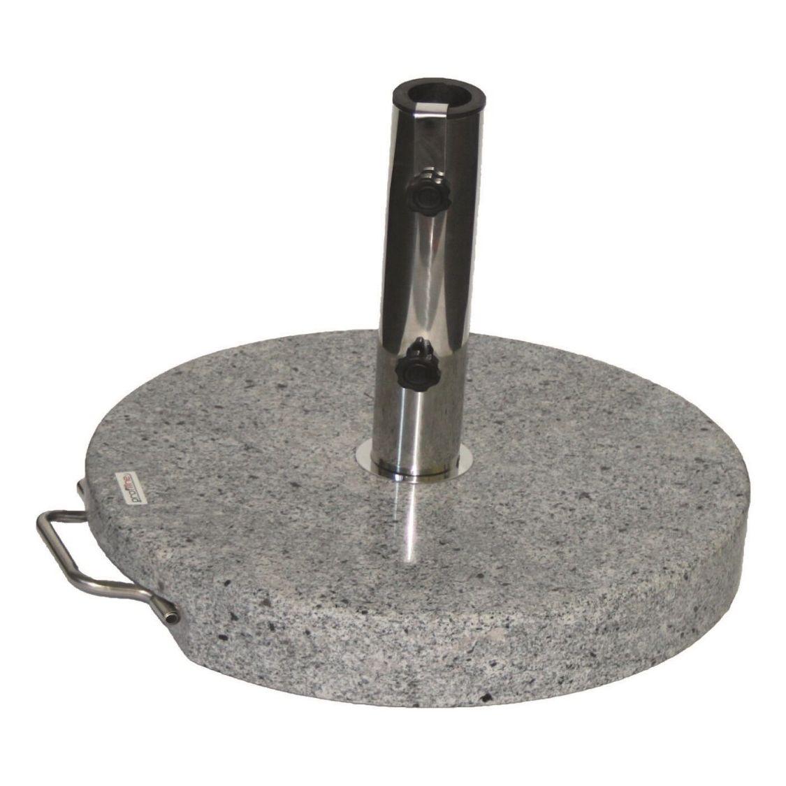 40 kg Granit Schirmständer 451070 Sonnenschirmständer Schirmfuß Granitständer