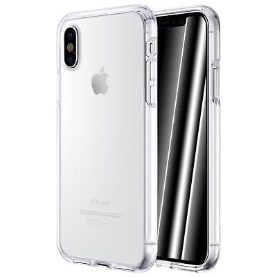 Dünn Slim Cover Apple iPhone X 10 Handy Hülle Silikon Case Schutz Tasche