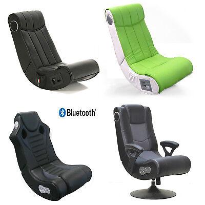 Gaming Chair Soundz Speedy Music Rocker Bluetooth Sound Drehsessel Multimedia