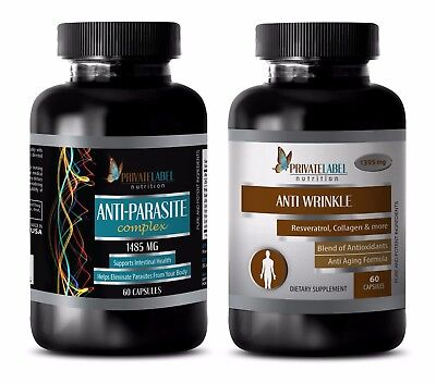 Anti-aging essential oil - ANTI PARASITE – ANTI WRINKLE COMBO - coenzyme b food
