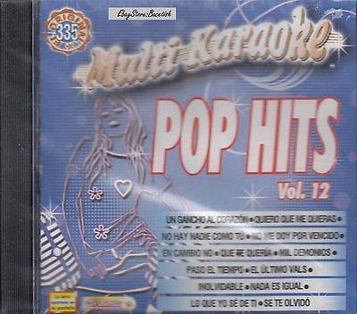 Playa Limbo Gael Garcia Luis Fonsi Reik Pop Hits Vol 12 Karaoke Nuevo sealed