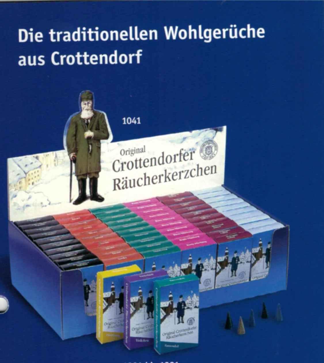 Crottendorfer Räucherkerzen 46 verschiedene Sorten u.Größen XS, M, L, XL,XXL