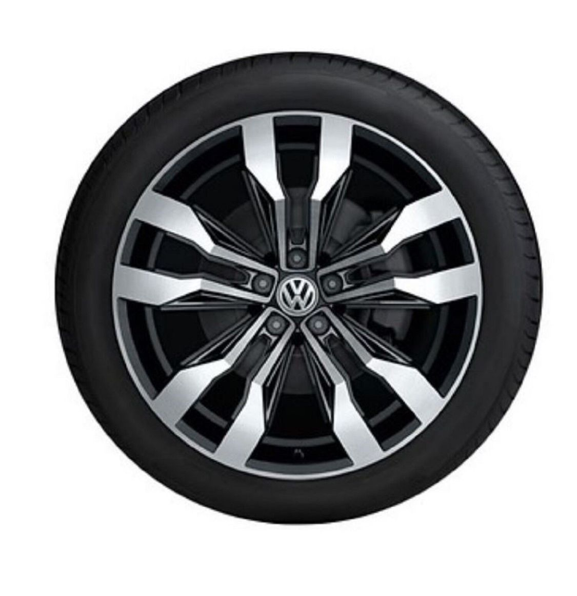 ORIGINAL VW Alufelge Leichtmetallfelge SUZUKA 8x19 VW T-ROC 2GA071499 NQ9