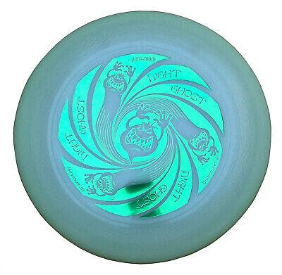 Ultimate Frisbee Discraft UltraStar NIGHT GHOST 175g glow nachtleuchtend Grün
